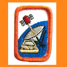 HIGH TECH COMMUNICATION Girl Scout Interest Project Patch Badge Multi=1 Ship NEW