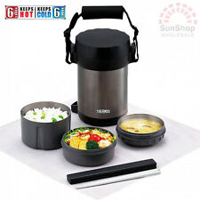 100% Genuine! THERMOS Vacuum Insulated 1.3L Food Storage with 3 compartments!