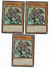 X3 YUGIOH GOUKI BEARHUG FLOD-EN010 COMMON 1ST IN HAND