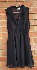 Divided by H&M - Black dress - EUR size 36 - S Small - Great condition