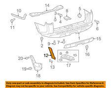 TOYOTA OEM 10-13 4Runner Rear Bumper-Side Molding Left 5270735010