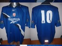 Bolton Wanderers McGinlay Adult M Shirt Jersey Football Soccer Reebok Vintage