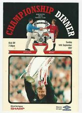 Manchester United Championship Dinner 1996-1997