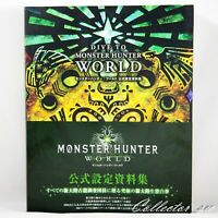 3 - 7 Days | Dive To Monster Hunter World Official Design Works Art Book from JP