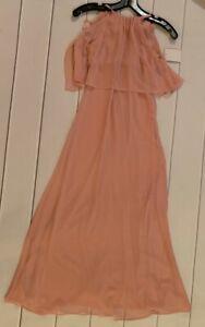 Davids Bridal Girls Dress Size 8 Ballet Pink Style JB9879 NWT