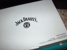 "JACK DANIEL'S OLD NO'7 BRAND ""WHISKEY TUMBLERS"" SET OF 12 NIB 9 OZ. GLASSES NICE"