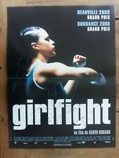 Poster Girlfight Michelle Rodriguez Jaime Tirelli 15 11/16x23 5/8in