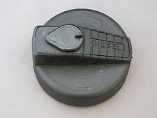 Replacement commercial vehicle fuel cap, 60mm, plastic, bayonet with chain DAF