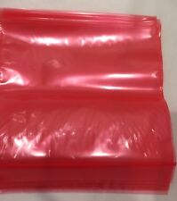 New listing Red Lunch Sandwich Bag Zipper Organize Bento 80 Count