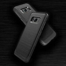 Novada Ultra Resistente a Prueba de Choques TPU De Carbono Con Textura Caso De Samsung Galaxy S8