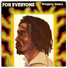 GREGORY ISAACS-for everyone    success LP   (hear)   reggae