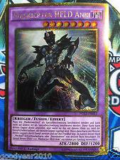 Yu-Gi-OH MASKIERTER HELD ANKI PGL2-DE011 GOLD-RARE  DEUTSCH 1.AUFLAGE  NM