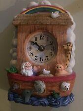 Noah's Ark Mantle/Shelf Clock
