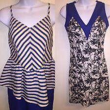 Lot Of Two Royal Blue Dresses Size Medium NWT
