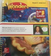 McGraw Hill Reading- Wonders Grade K Units 3-4 Teacher's Edition (2020)