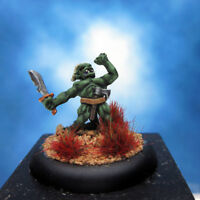 Painted Lizardman Miniature