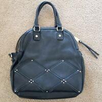 Steve Madden Large Black Handbag Shoulder Bag Tote
