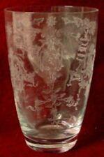 "FOSTORIA crystal NAVARRE 6016 pattern Highball Glass or Tumbler - 4-7/8"""
