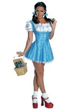 ADULT SEQUIN DOROTHY COSTUME SIZE EXTRA SMALL - MISSING HAIR BOWS