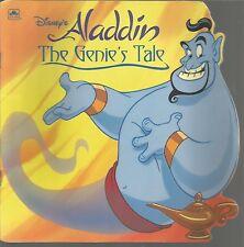Golden Super Shape Book The Genie's Tale  Disney's Aladdin Karen Kreider 1993 PB