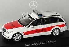 1:43 Mercedes-Benz C-Klasse T-Modell S204 NEF Notarzt - Dealer Schuco B66960330