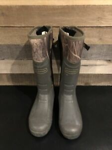 """Mens Snake Boots LaCrosse 18"""" Mudlite Water Proof Hunting Camo Men's Size 13"""