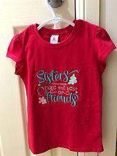 Size 5 Girls Shirt Big Sister Birthday Gift Embroidered