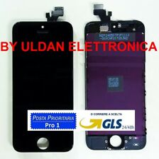 TOUCH SCREEN + LCD DISPLAY + FRAME PER APPLE IPHONE 5 5G VETRO SCHERMO NERO