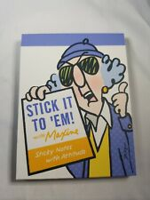 Hallmark Maxine Stick It To Em Book Sticky Notes With Attitude