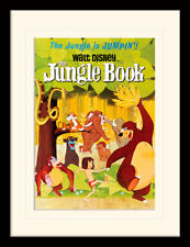The Jungle Book Jumpin' Framed & Mounted Print