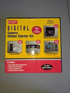 Universal Digital Camera Starter Kit by Digital Concepts *New In Box