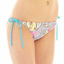 Arizona Sweet Pea Swim Bottoms Juniors Size XL New Msrp $28.00