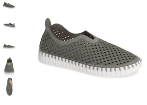 Ilse Jacobsen Tulip 139 Grey Slip-on Shoe Women's EU sizes 36-41 NEW!!!