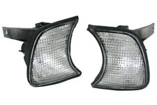 fit 1989-1995 BMW E34 5-Series Clear Corner Parking Signal Lights DEPO PAIR