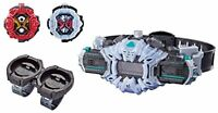 Kamen Masked Rider Zi-O DX Ziku Driver & Ride Watch Holder Set F/S w/Tracking#