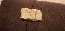 SUPER RARA Roman lega di piombo pezzo di gioco con le lettere L68e