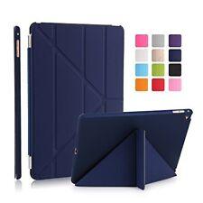 "Apple iPad 9.7"" iPad 1 2 3 4  Air 1 2 Case Magnetic Cover Auto Sleep Wake  + Pen"