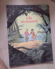 Livre: L'île du Monstril * YVAN POMMAUX *  (L'école des loisirs)