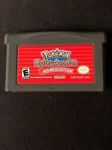 Pokemon Mystery Dungeon: Red Rescue Team (Nintendo Game Boy Advance, 2006) Cart