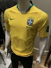 76da664f5ca Nike 2018 World Cup Brazil Brasil Home Soccer Jersey Yellow 893856-749 Men's  S-L