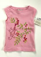 Guess Jeans Girls Top Tee Shirt Pink Pink Sequin Size M(5/6)