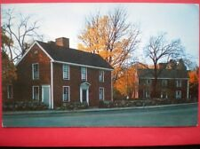POSTCARD USA QUINCY MASSACHUESTS - BIRTHPLACE OF 2ND & 6TH PRESIDENTS