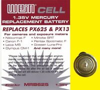 Piles WeinCell MRB 625 - 1,35 V - PX 625 - Rechange pour MR9 - PX13