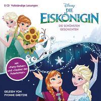 DIE EISKÖNIGIN - DIE SCHÖNSTEN GESCHICHTEN  2 CD NEW