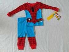 Spider-man 2pc Sleepwear Set NEW movie Pajamas Outfit Avengers Size 12 Months