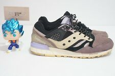 Saucony x Sneaker Freaker Grid SD Kushwacker Purple Black PRE-OWNED Size 9 US