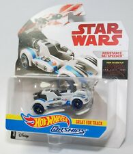 Hot Wheels Star Wars Carships RESISTANCE SKI SPEEDER Great for Tracks NEW