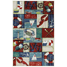 Mohawk Escape N is for Nautical Rug (5' x 8')