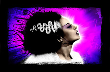 BRIDE of FRANKENSTEIN POP CANVAS ART