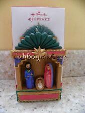 Hallmark 2013 Nacio Nuestro Salvador Spanish Christmas Ornament